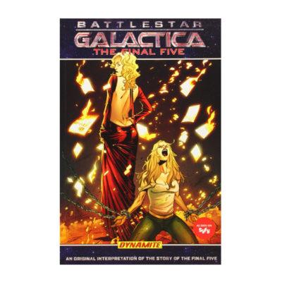 Battlestar Galactica Final Five Comic