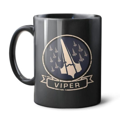 Battlestar Galactica Viper Ceramic Coffee Mug 11oz
