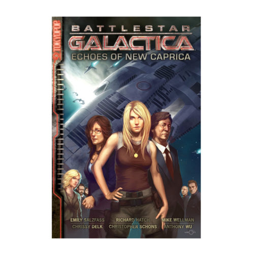 Battlestar Galactica Echoes of New Caprica Manga
