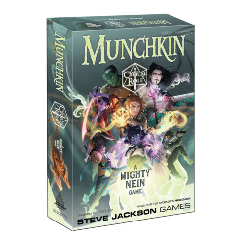Critical Role: Munchkin Critical Role A Mighty Nein Game