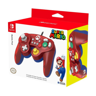 Nintendo Battle Pad Mario Bros GameCube Style Controller for Switch