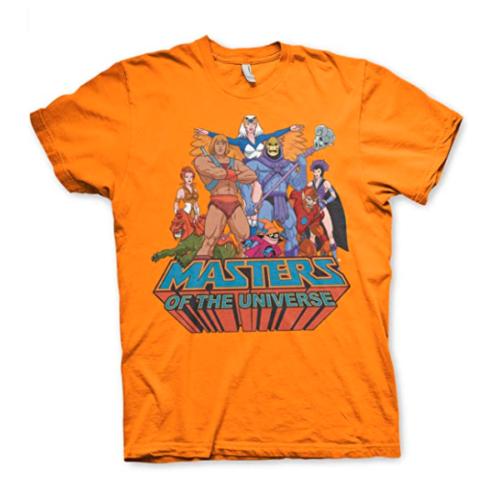 Masters of The Universe Orange T-Shirt