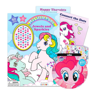My Little Pony G1 Coloring Book with Stickers