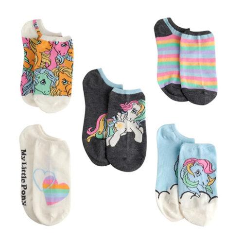 My Little Pony Multi Color Socks 5 Pk