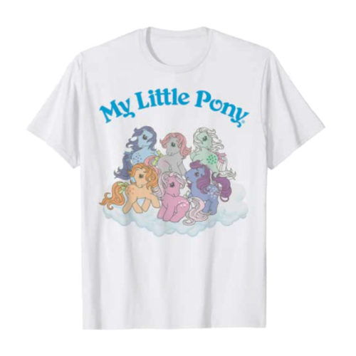 My Little Pony Group Shot T-Shirt in White