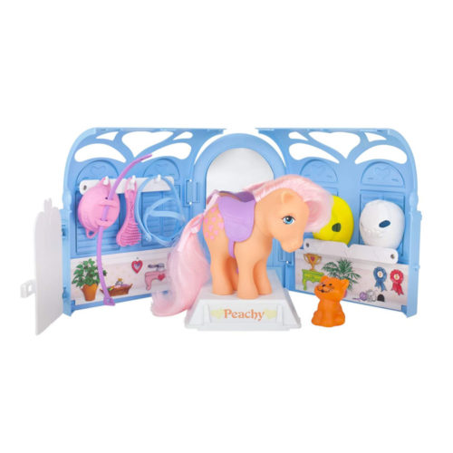 My Little Pony Retro Pretty Parlor Playset with Peachy