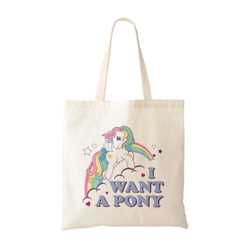My Little Pony G1 Starshine I Want A Pony Tote Bag