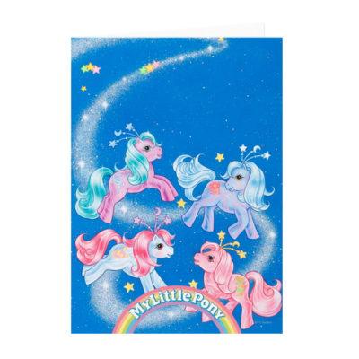 My Little Pony G1 Ponies Celestial Ponies Card