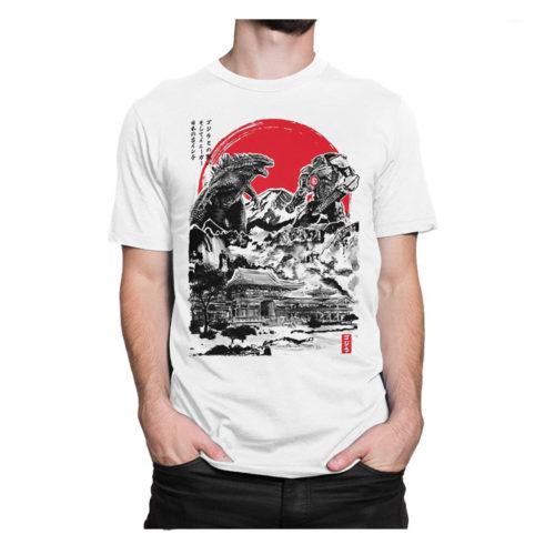 Pacific Rim: Jaeger vs Godzilla Tee