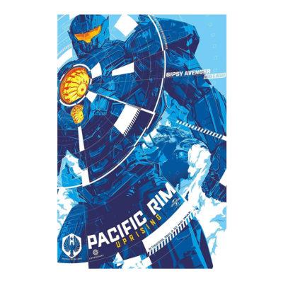 Pacific Rim Uprising Canvas Print Movie Poster