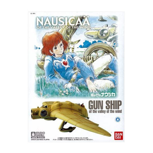 Studio Ghibli Nausicaä of the Valley of the Wind Gunship 1/72 Model Kit