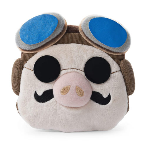 Porco Rosso Studio Ghibli Coin Purse and Plush Toy