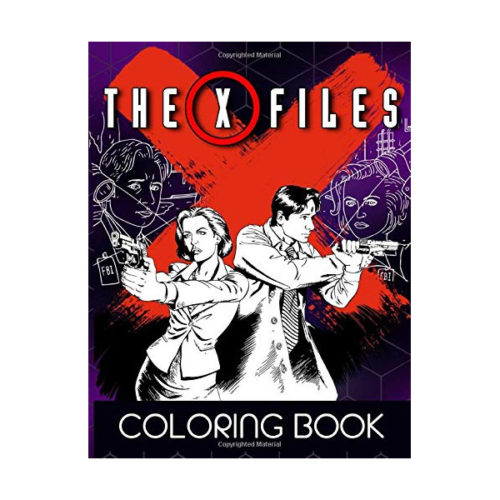 The X-files Coloring Book for Stress Relief