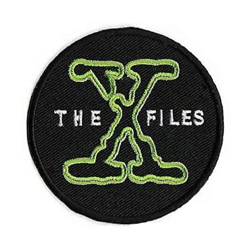 The X-Files Logo Embroidered Iron-On Patch