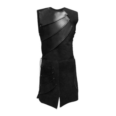 Medieval Sleeveless Waistcoat Vest