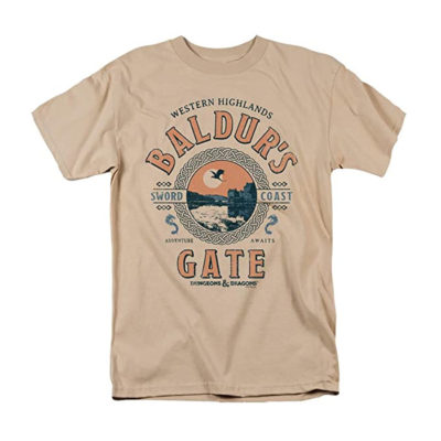Dungeons & Dragons Baldurs Gate Resort Unisex T-Shirt