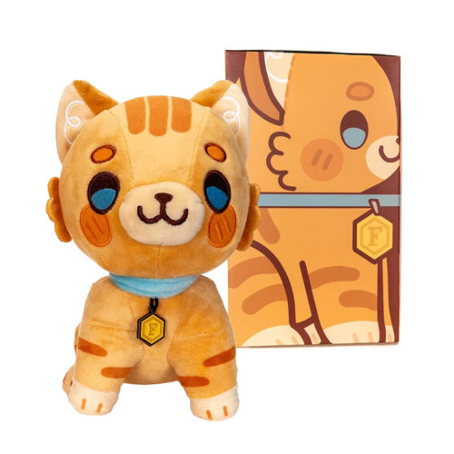 Critical Role Mighty Nein Frumpkin Cat Plush Toy