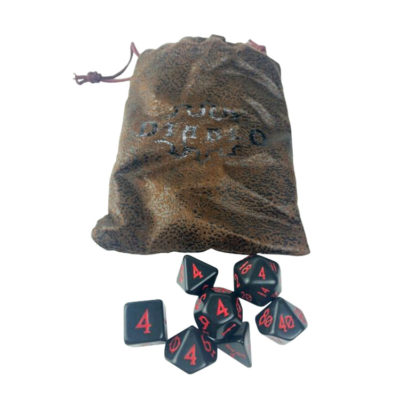 Diablo III Blizzcon 21016 Special Edition Dice Set