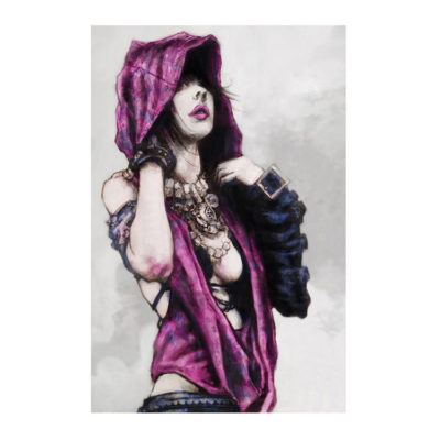 Dragon Age Morrigan the Witch Poster