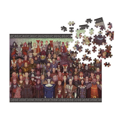 Dragon Age 1000 Piece Deluxe Jigsaw Puzzle by Dark Horse