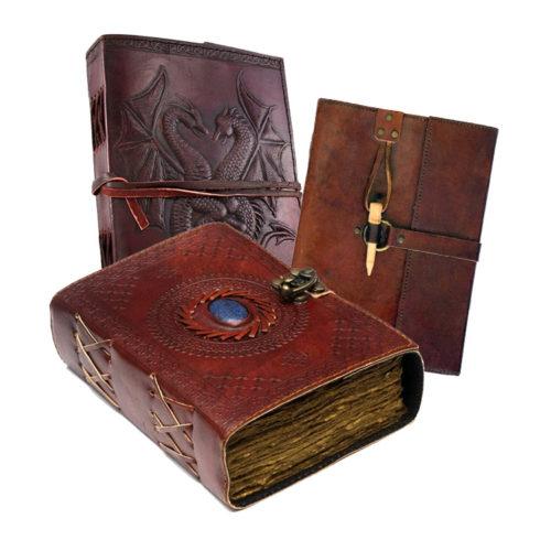 Unique Fantasy Medieval Vintage Journals for RPG, LARP and Inspiration
