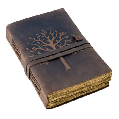 Tree of Life-Leather Bound Journal Notebook