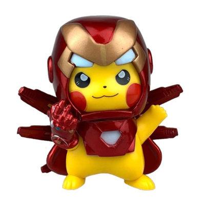 Pikachu Iron Man with Thanos Glove Action Figure