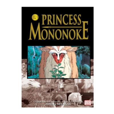 Princess Mononoke Film Manga Comic Volume 3