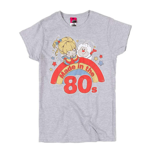Rainbow Brite Made in The 80s Fitted T-Shirt