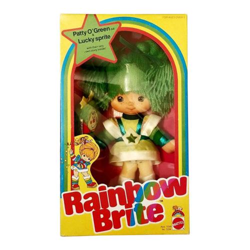Vintage Rainbow Brite Patty O'Green Doll 1983
