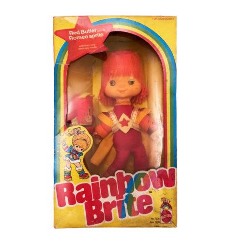 Vintage Rainbow Brite Doll Mattel Red Butler 1983