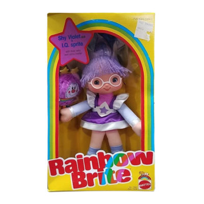 Vintage Rainbow Brite Shy Violet Doll 1983