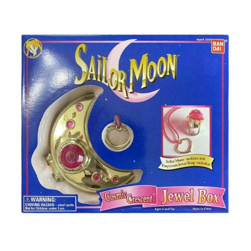 Vintage Sailor Moon Sailor Cosmic Crescent Jewel Box Bandai 1995