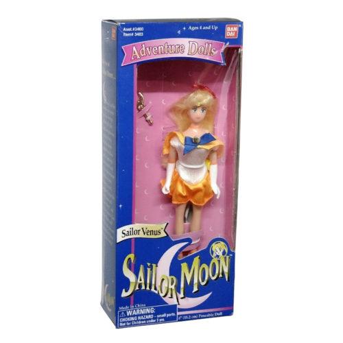 Sailor Moon Vintage Doll Bandai 1995 - Adventure Dolls Sailor Venus