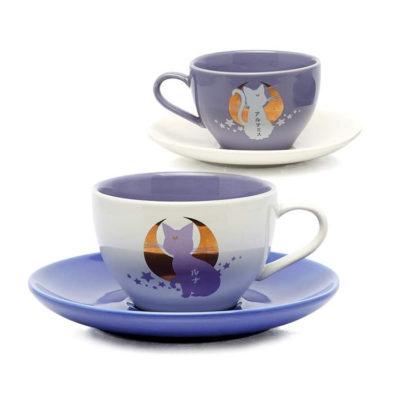 Sailor Moon Luna and Artemis Tea Cups