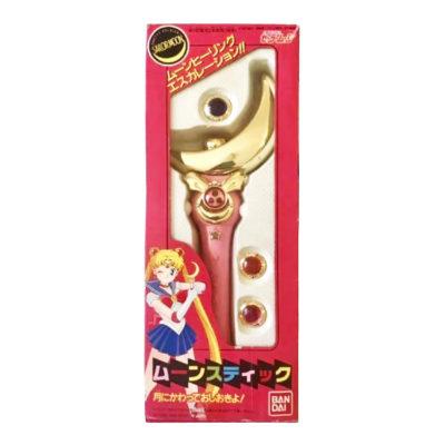 Sailor Moon Vintage Wand Bandai 1992 Super Moon Stick Power Rod