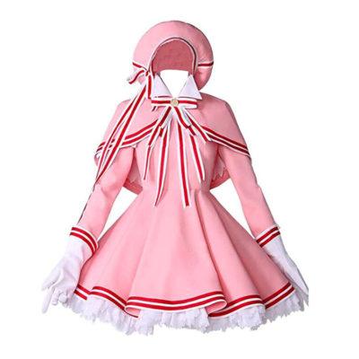 Sakura Card Captor Costume Cosplay Dress