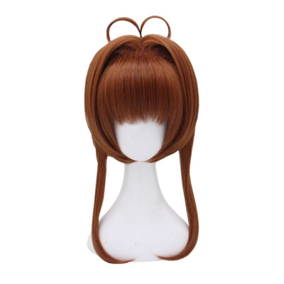 Sakura Card Captor Cosplay Brown Wig