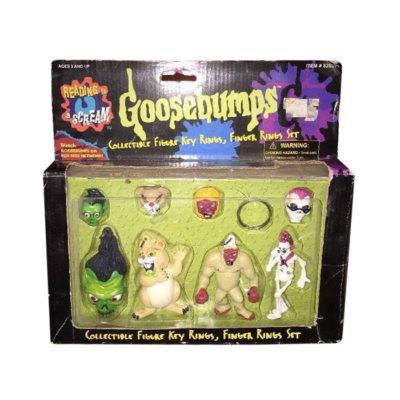 Vintage Goosebumps Figure Key & Rings 1996