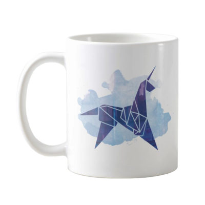 Blade Runner Origami Unicorn Coffee Mug