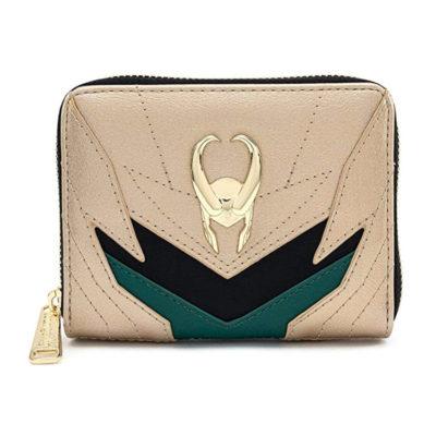 Marvel Loki Zip Around Wallet
