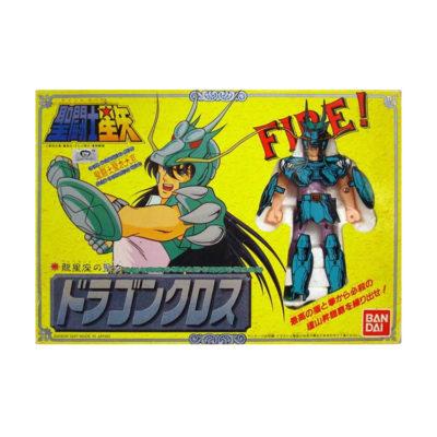Saint Seiya 1987 Vintage Bandai Figure: Dragon Shiryu