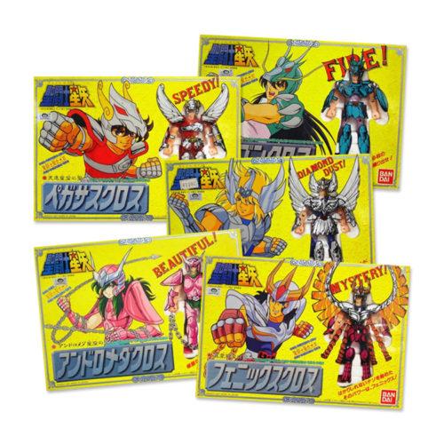 Saint Seiya 1987 Vintage Bandai Figures and Where to Find Them